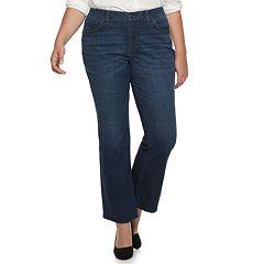 Plus Size Apt. 9® Lycra Beauty MidRise Bootcut Jeans