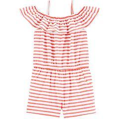Toddler Girl OshKosh B'gosh® Striped Romper