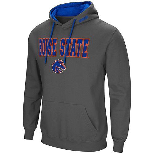 Men's Boise State Broncos Pullover Fleece Hoodie