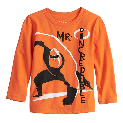 "Disney / Pixar The Incredibles 2 Toddler Boy ""Mr. Incredible"" Graphic Tee by Jumping Beans®"