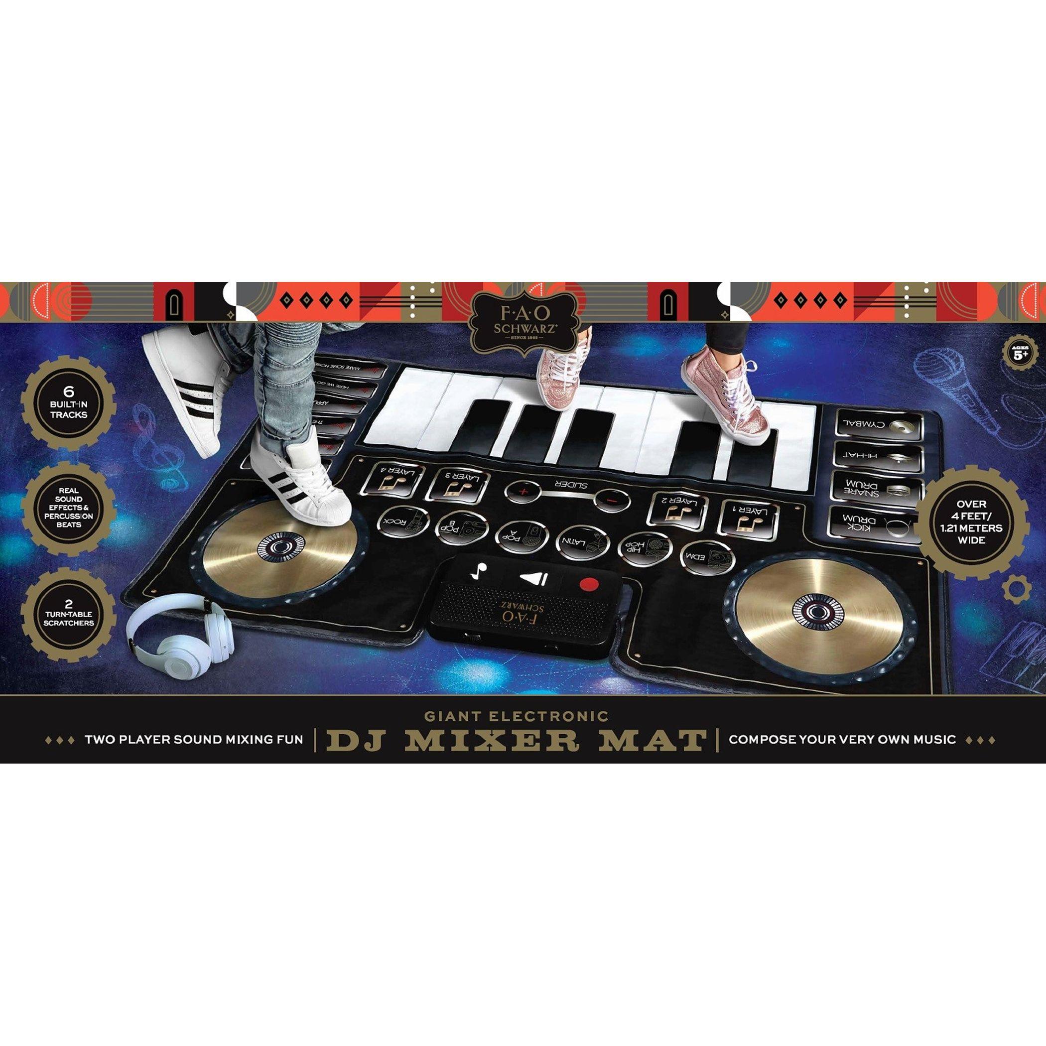 Großer schwarzer DJ