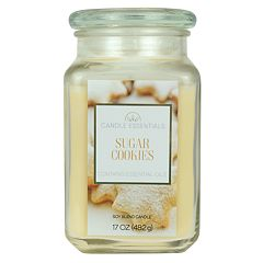 Candle Essentials Sugar Cookies 17-oz. Candle Jar
