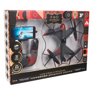 FAO Schwarz 10-inch Live Video Streaming Coventry Aviation Drone