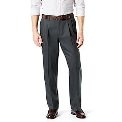 Men's Dockers® Signature Khaki Lux Relaxed-Fit Stretch Pleated Pants D4