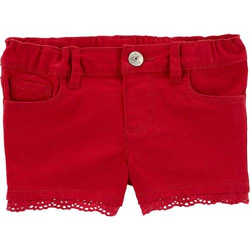 Toddler Girl OshKosh B'gosh® Eyelet-Trim Shorts