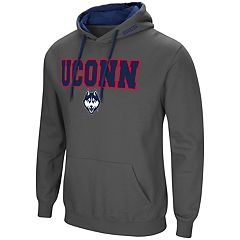 Men's UConn Huskies Pullover Fleece Hoodie