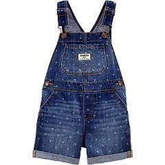 b08a5a97 Toddler Girl OshKosh B'gosh® Star Denim Shortalls