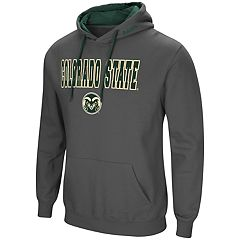 Men's Colorado State Rams Pullover Fleece Hoodie