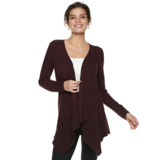 Women's ELLE? Cozy Draped Flyaway Cardigan