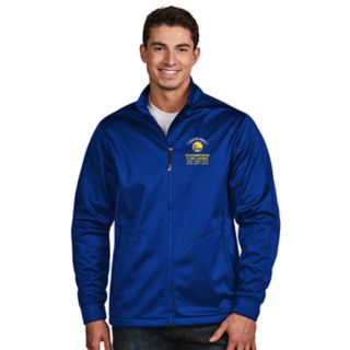 Men's Antigua Golden State Warriors 2018 NBA Finals Champions Golf Jacket