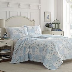 Laura Ashley Lifestyles Kenna Quilt Set