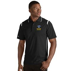 Men's Antigua Golden State Warriors 2018 NBA Finals Champions Merit Polo