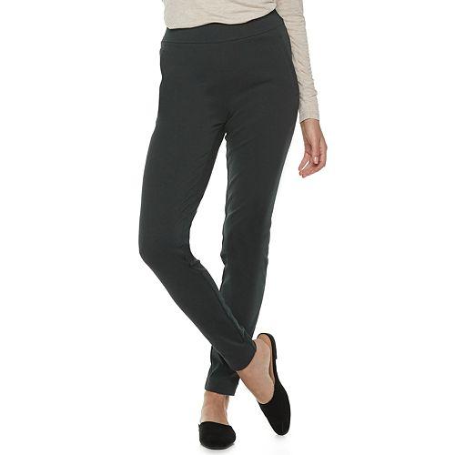 Women's ELLE™ Pull-On Skinny Ponte Pants