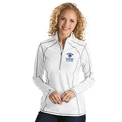 Women's Antigua Golden State Warriors 2018 NBA Finals Champions Tempo Pullover