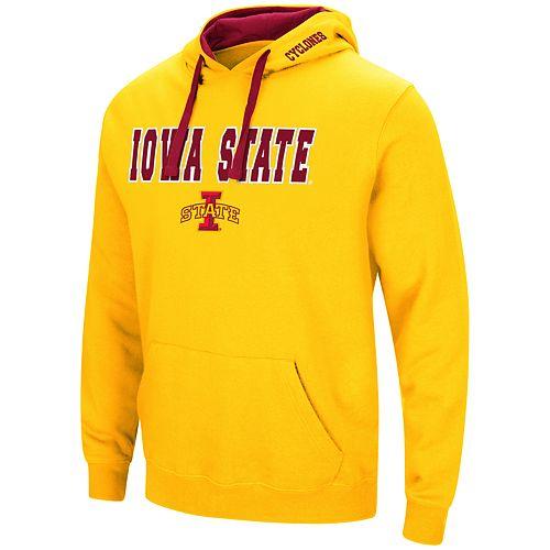 Men's Iowa State Cyclones Pullover Fleece Hoodie