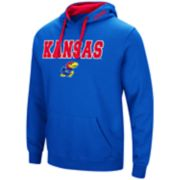 Men's Kansas Jayhawks Pullover Fleece Hoodie
