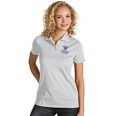 Women's Antigua Golden State Warriors 2018 NBA Finals Champions Quest Polo