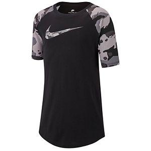f84fa36b9 Boys 8-20 Nike Camo Tee