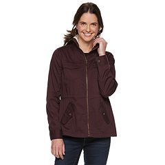 Women's SONOMA Goods for Life™ Sherpa Trim Utility Jacket