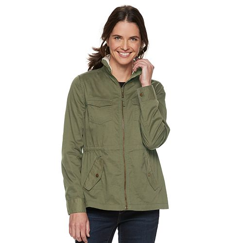 Women's SONOMA Goods for Life™ Sherpa-Lined Utility Jacket