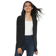 Women's ELLE™ Relaxed Open-Front Blazer