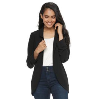 Women's ELLE? Relaxed Open-Front Blazer