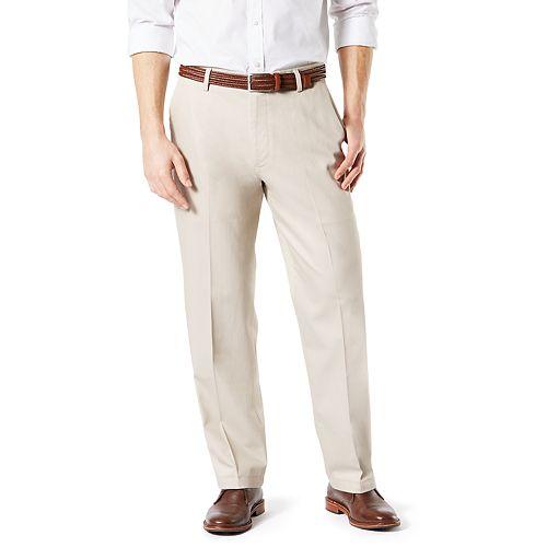 Men's Dockers® Relaxed-Fit Signature Khaki Lux Cotton Stretch Pants D4