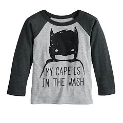 Baby Boy Jumping Beans® DC Comics Batman Raglan Graphic Tee