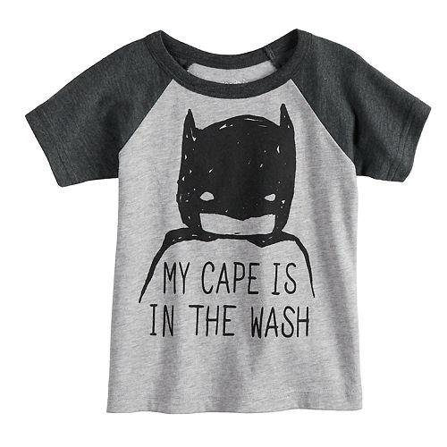 Baby Boy Jumping Beans® DC Comics Batman Raglan Graphic Tee