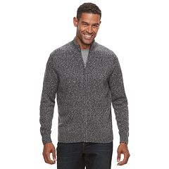 Men's Croft & Barrow® Full-Zip Sweater