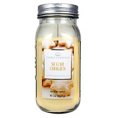 Candle Essentials Sugar Cookies Mason 16-oz. Candle Jar