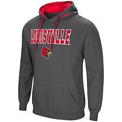 Men's Louisville Cardinals Pullover Fleece Hoodie