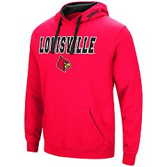 Men's Louisville Cardinals Pullover Fleece Hoodie