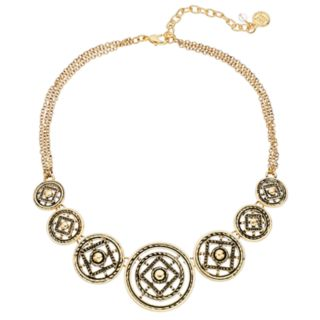 Dana Buchman Medallion Statement Necklace