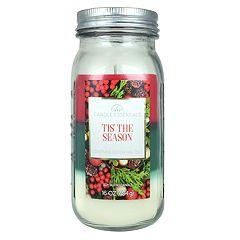 Candle Essentials 'Tis The Season Mason 16-oz. Candle Jar