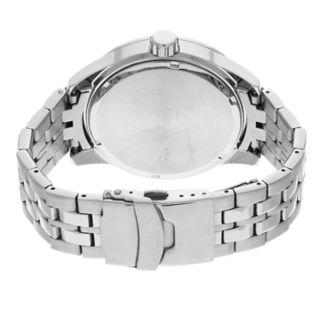 Armitron Men's Stainless Steel Solar Watch - 20/5289NVSV