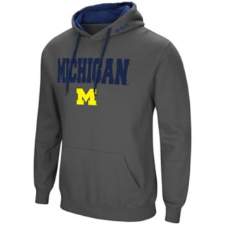Men's Michigan Wolverines Pullover Fleece Hoodie