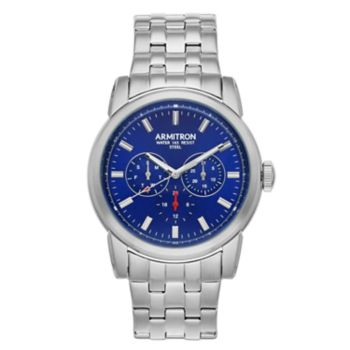 Armitron Men's Stainless Steel Dress Watch - 20/5312NVSV