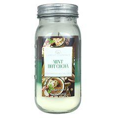 Candle Essentials Mint Hot Cocoa Mason 16-oz. Candle Jar