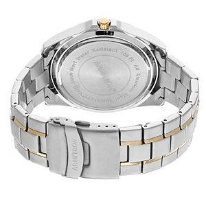 Armitron Men's Two Tone Stainless Steel Dress Watch - 20/5313BKTT