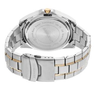 Armitron Men's Two Tone Stainless Steel Dress Watch - 20/5313BKTT