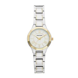 Armitron Women's Two Tone Watch - 75/5605SVTT