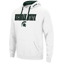 Men's Michigan State Spartans Pullover Fleece Hoodie