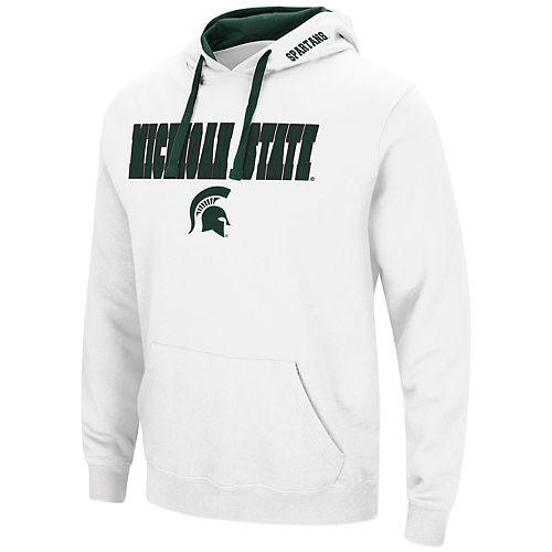 Men's Michigan State Spartans Pullover Fleece Hoodie