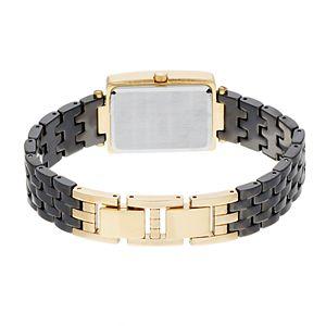 Armitron Women's Diamond Accent Ceramic Watch - 75/5613BKGP