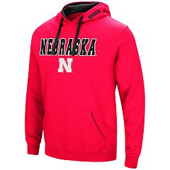 Men's Nebraska Cornhuskers Pullover Fleece Hoodie