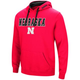 Men's Nebraska Cornhuskers Pullover Fleece Hoodie