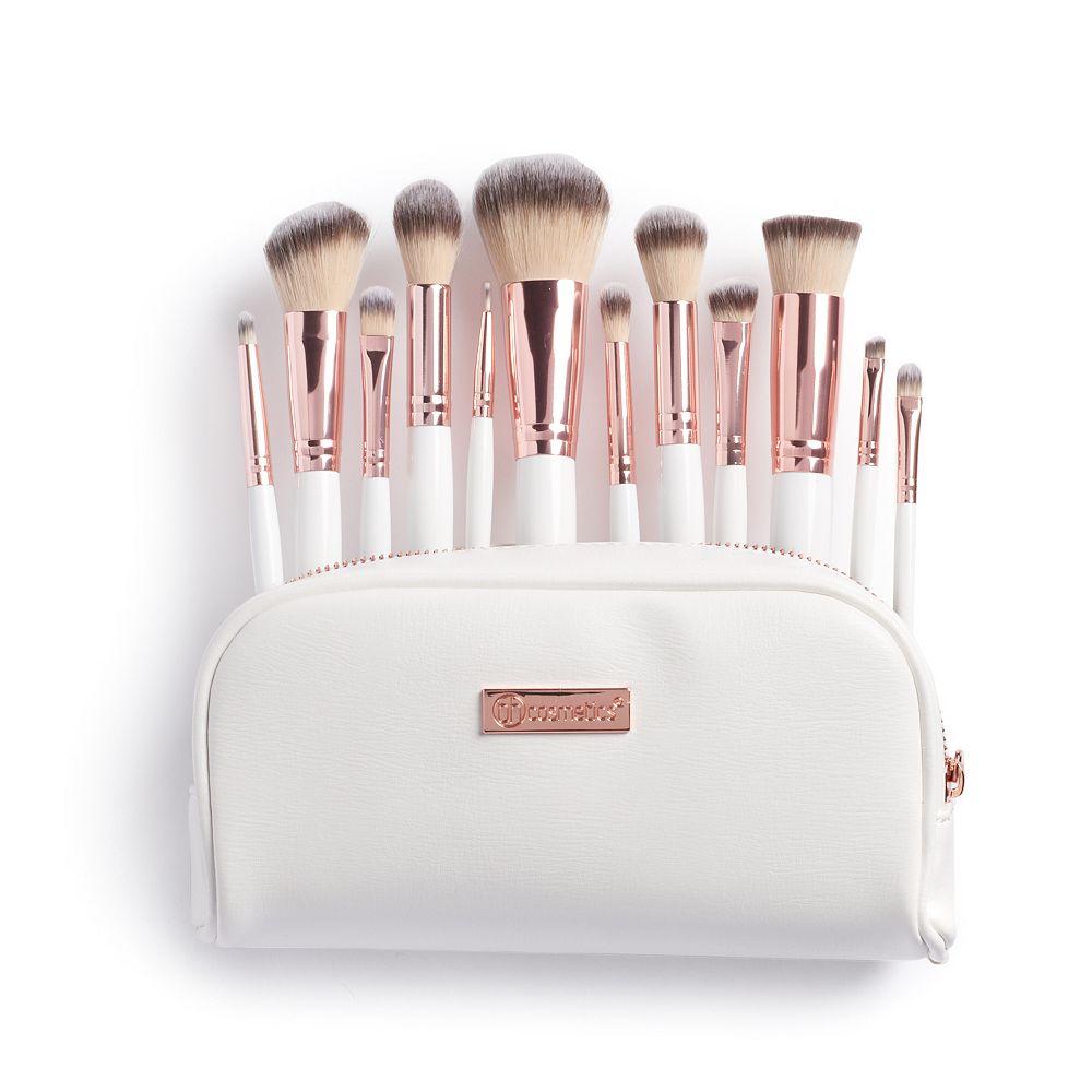 BH Cosmetics Rose Romance 12-pc  Makeup Brush Set