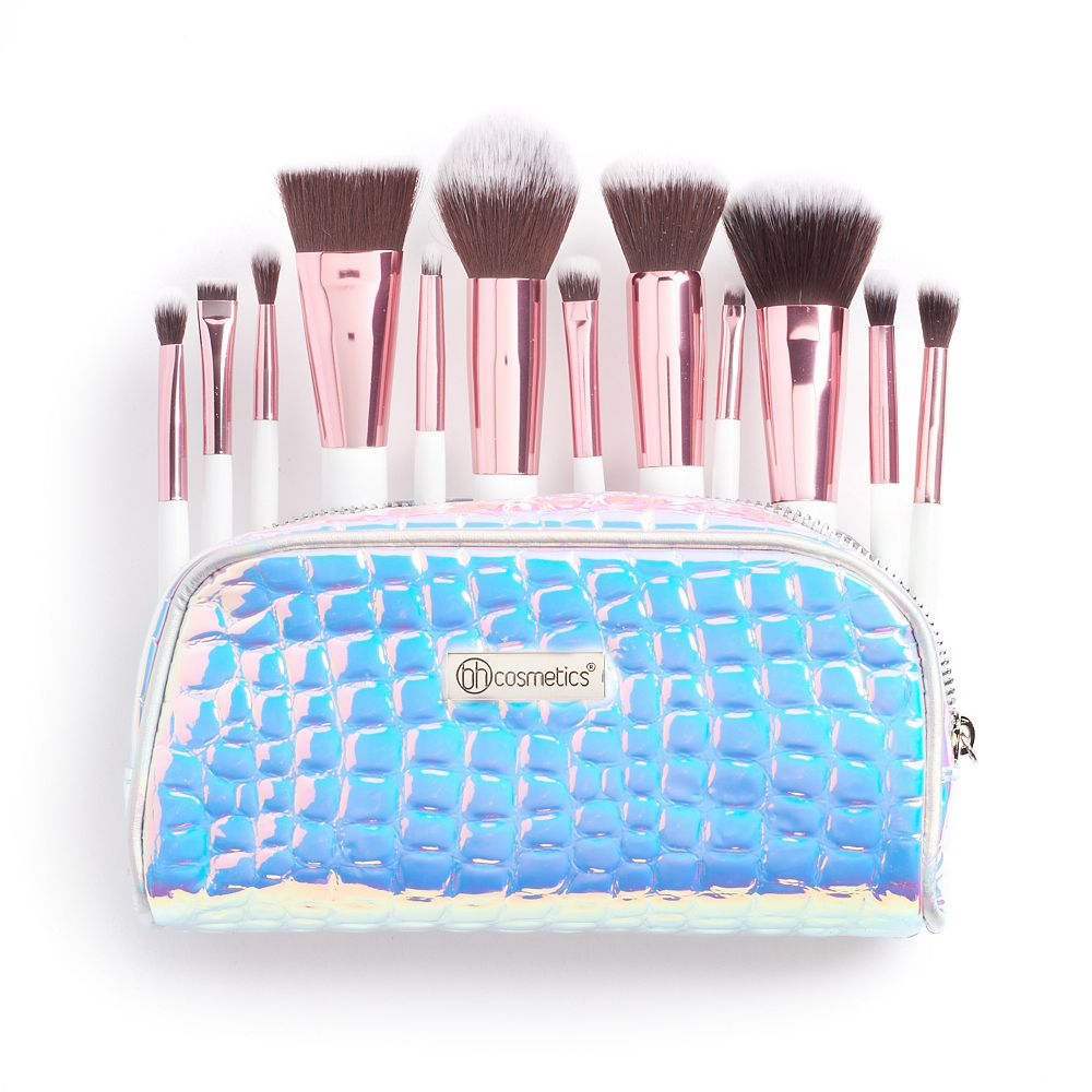 461e066cc15c0 BH Cosmetics Crystal Quartz 12-pc. Makeup Brush Set