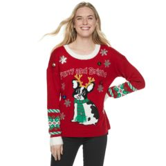 Womens Red Christmas Sweaters Tops Clothing Kohls